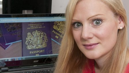 Becky Robertson was forced to miss her holiday after waiting months for her new passport. Picture: N