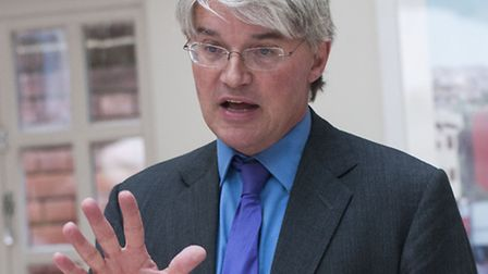 Andrew Mitchell MP speaks to Conservative supporters and activists. Picture: Nigel Sutton
