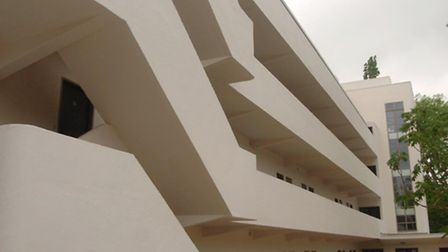The Isokon Building. Picture: Johnny Green/PA