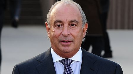 Sir Philip Green. Picture: PA