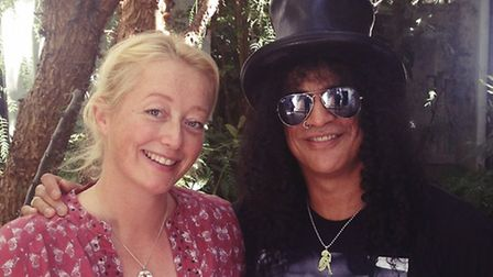 Scarlet Page with Slash