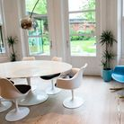 Saarinen Tulip Table in Kitchen
