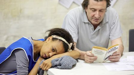 Beyond Caring at The Yard Theatre Beyond Caring is written by Alexander Zeldin. Photo credit: Mark