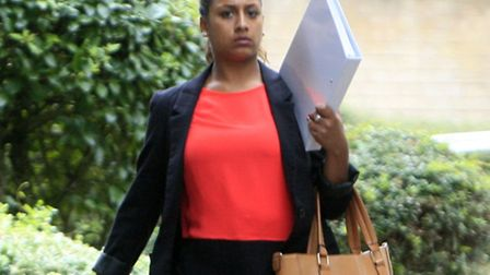 West Hampstead Pc Saheena Tegally is accused of perverting the course of justice