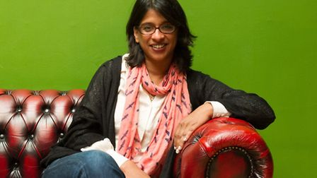 Indhu Rubasingham, artistic director of the Tricycle Theatre. Picture: Jane Hobson.