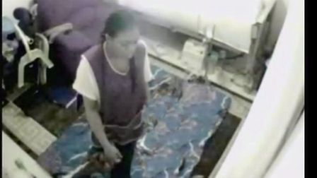 A CCTV image of the woman police want to speak to.