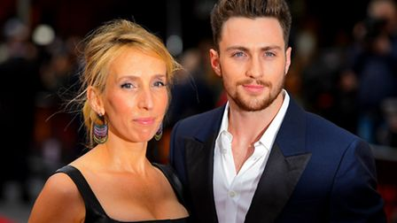 Police stormed the home of Sam Taylor-Johnson (formerly Taylor-Wood) and Aaron Taylor-Johnson. Pictu