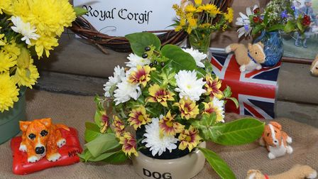 Some of the displays from the Corton Flower Festival last year (2016). Picture: MICK HOWES