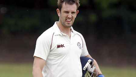 Hampstead captain Steve Clark was the top scorer with a half-century, but a losing draw against Eali