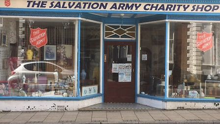 The Salvation Army charity shop on Lowestoft High Street is to close. Picture: Mark Boggis