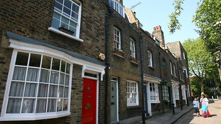 Grade II listed street in Kentish Town