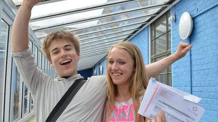 Twins Joshi and Natascha Von Uexkull, who studied at La Swap, both got A*, A, B, but in different su