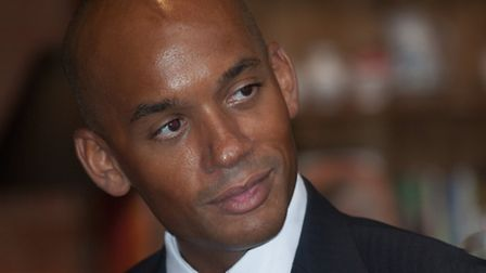 Shadow business secretary Chuka Umunna at the Sheriff Centre. Picture: Nigel Sutton.