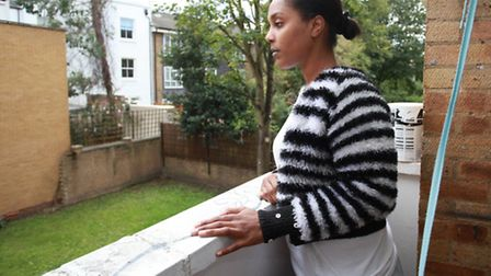 Epileptic sufferer Jen Thames awaits for suitable housing from Hackney Council