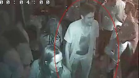 One of the two men Hackney Police would like to speak to regarding the broken jaw assault.