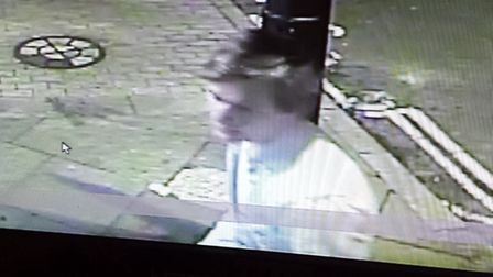 Images of the men wanted by police