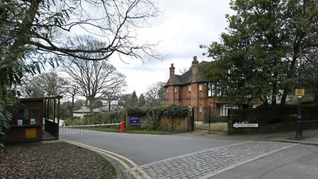 View of Courtenay Avenue, London, N6, one of Britain's most expensive streets