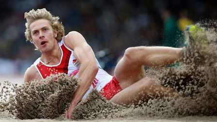 Chris Tomlinson competed in the men's long jump final at the Commonwealth Games in Glasgow (pic: Dav