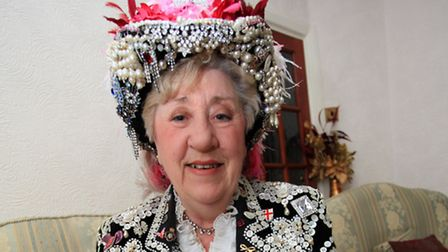 The Pearly Queen of Hackney, Jackie Murphy, for The Big Read.
