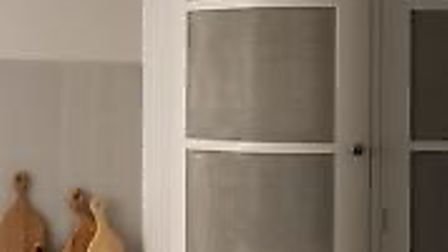 Storage cupboards with stainless steel mesh panels