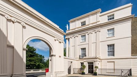 Cumberland Terrace, a one bedroom flat available through Savills for £1,795,000