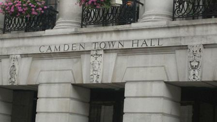 High Court bailiffs began seizing council-owned TVs, computers and printers at Camden Town Hall