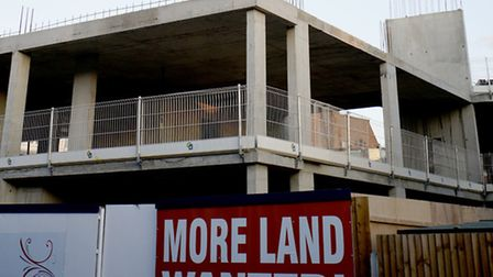 The building demolished by Bellway, photo Alexis Bamforth.