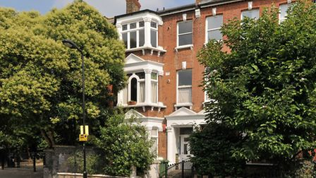 A one-bedroom flat on Savernake Road near Hampstead Heath station. The property is available through