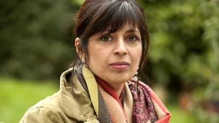 Sita Bramachari, author of Red Leaves