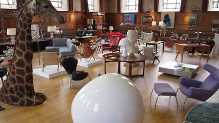 The Cabinet Rooms pop up showroom in Cecil Sharp House, Camden NW1