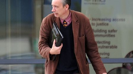 Julian Myerscough at Ipswich Crown Court in 2010. Picture: Archant.