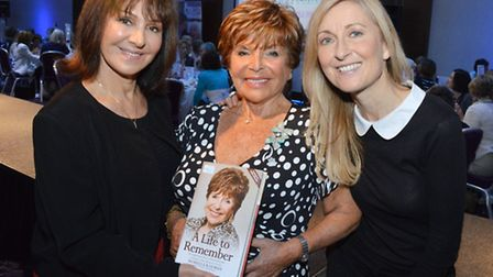 Left to right: Arlene Phillips, Morella Kayman and Fiona Phillips. Picture: Polly Hancock.