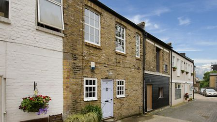 Fortess Yard, Kentish Town, London NW5. The asking price is �699,950 and the property is being sold