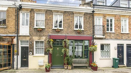Pindock Mews, Maida Vale, London W9. The asking price is �750, 000 and is being sold through Lurot B
