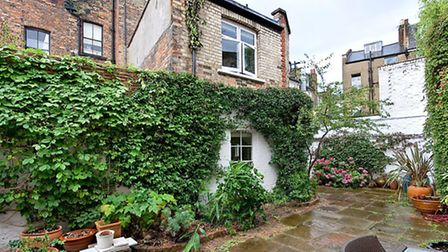 Mews Cottage, Primrose Hill, London NW1. The asking price is £750,000 and is being sold through FoxG
