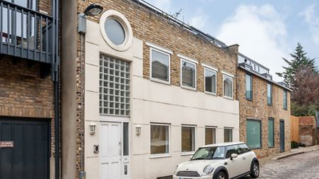 Camden Mews, Camden, London NW1. The asking price is �1,350,000 and the property is being sold throu