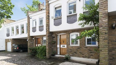 Old Brewery Mews, Hampstead, NW3. �1,850,000 through Goldschmidt Howland