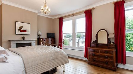Cromwell Avenue, N6. The four bedroom terraced house is on the market for �1.85 million through Wink