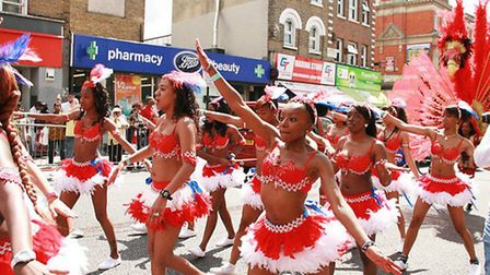 The parade in Dalston in 2012
