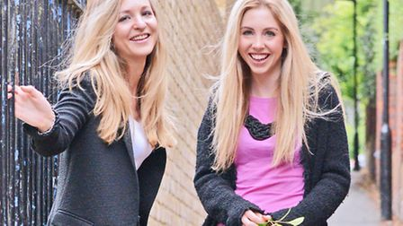 Sophie Cook (right) and her sister Emily
