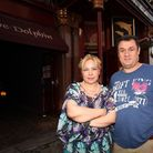 The Dolphin Pub owners Nuvit and Yasar Yildiz
