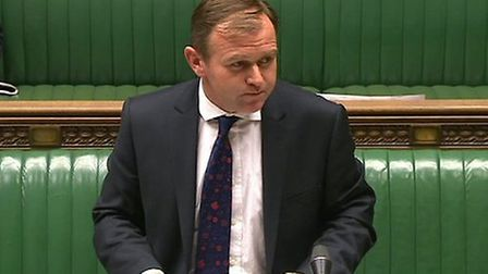 George Eustice MP, the Parliamentary Under-Secretary of State for Environment, Food and Rural Affair
