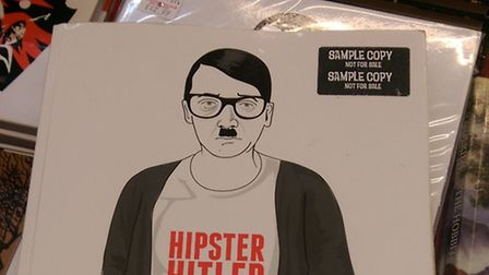 The Hipster Hitler comic book pokes fun at Hitler, the Third Reich and the hipster sub-culture