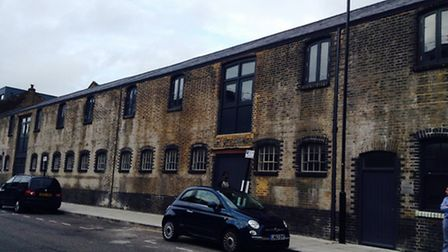 The old stables in Hertford Road earmarked for the Sarabande Foundation HQ. Photo Emma Bartholomew.