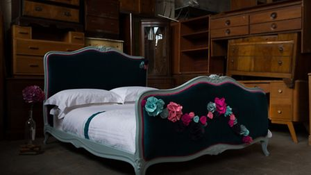 Bed by Zoe Brewer London and Out of the Dark. Photo: Paul Craig