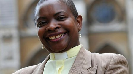 Reverend Rose Hudson-Wilson, chosen to feature in an exhibition of London's 40 most awe-inspiring wo