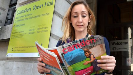 Cllr Claire-Louise Leyland has criticised the council over its Camden Magazine. Picture: Polly Hanco