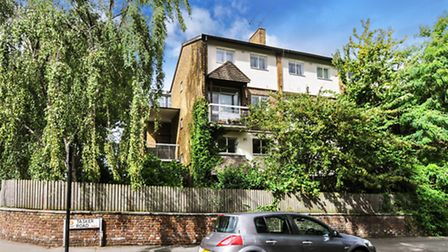 Exterior of two-bedroom garden flat available through Hadleigh Residential for �750,000