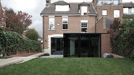 Rear extension for Victorian house, Wolsely Road