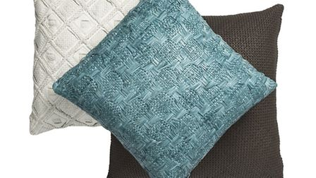 Cushions designed by Fameed Khalique